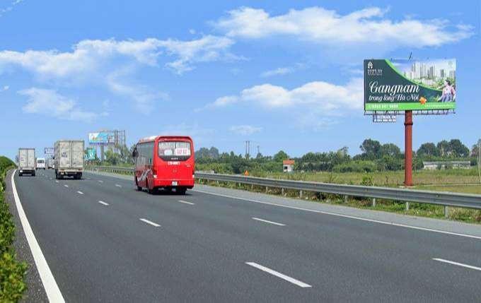 quảng cáo trục quốc lộ