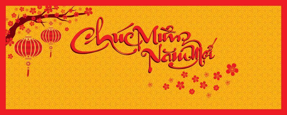 Băng rôn chúc mừng năm mới được ưa chuộn tại Việt nam