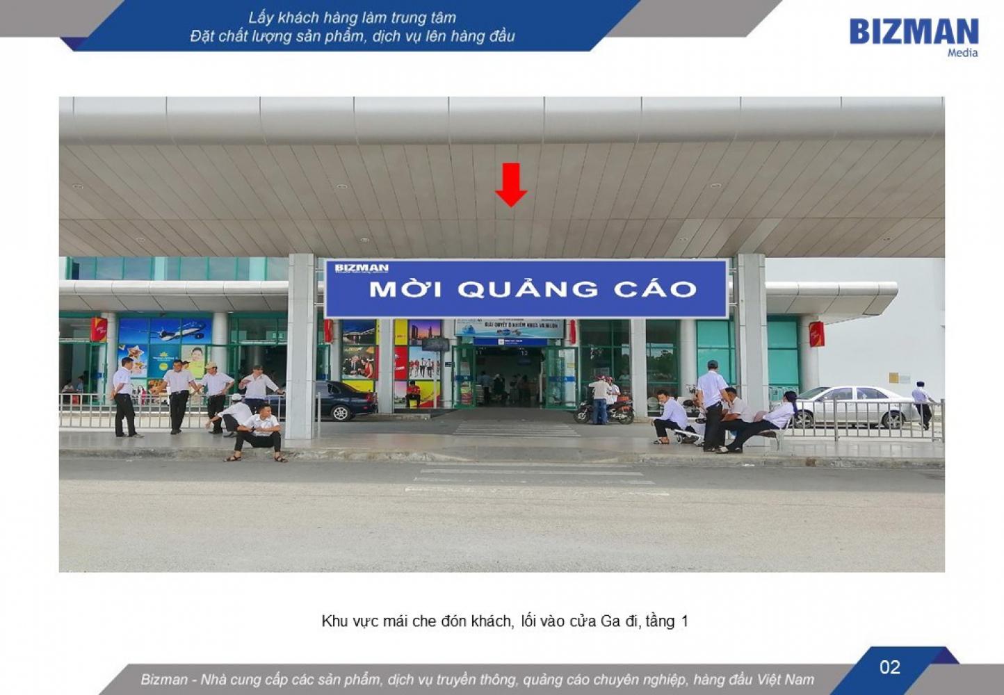 quảng cáo hộp đèn sân bay Phú Bài