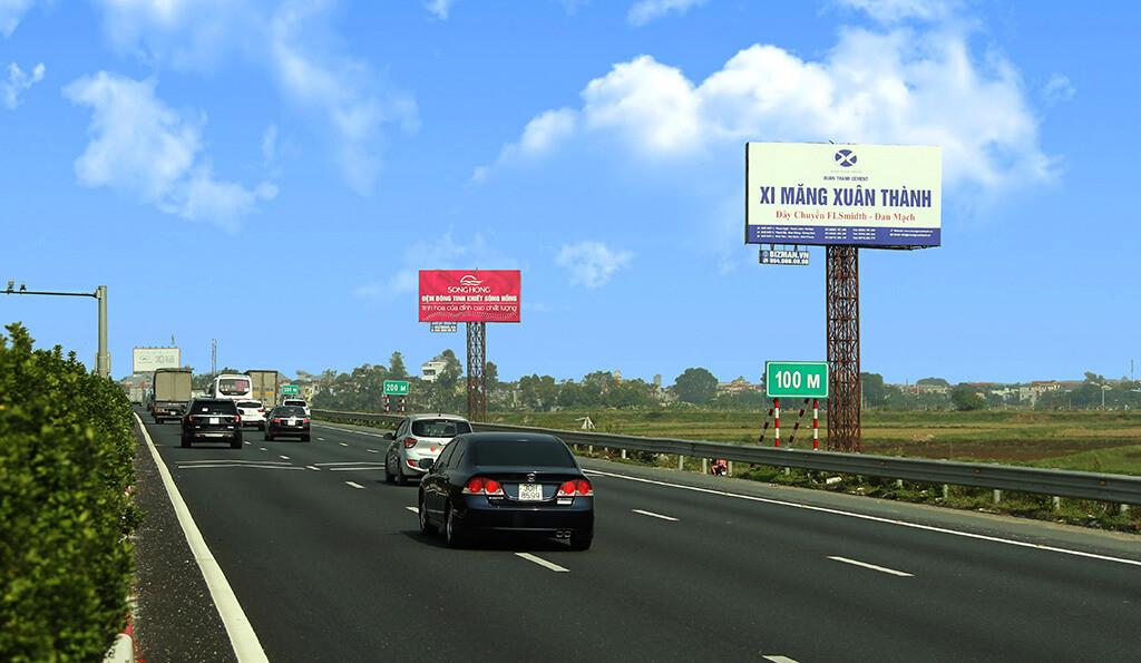 quảng cáo đường cao tốc của xi măng xuân thành