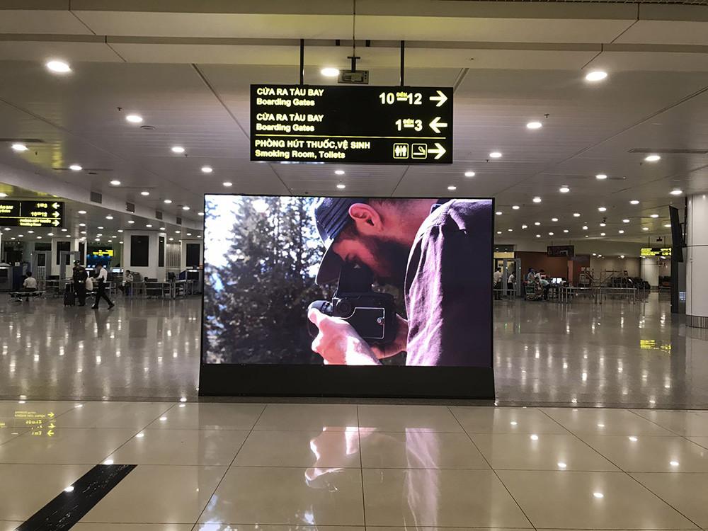 Quảng cáo màn hình led tại các cảng sân bay hàng không