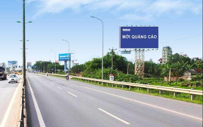 Biển quảng cáo nằm ở vị trí đường Võ Văn Kiệt