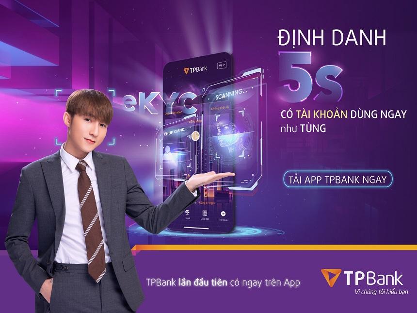 Đại sứ thương hiệu TP Bank chiến dịch định danh 5s