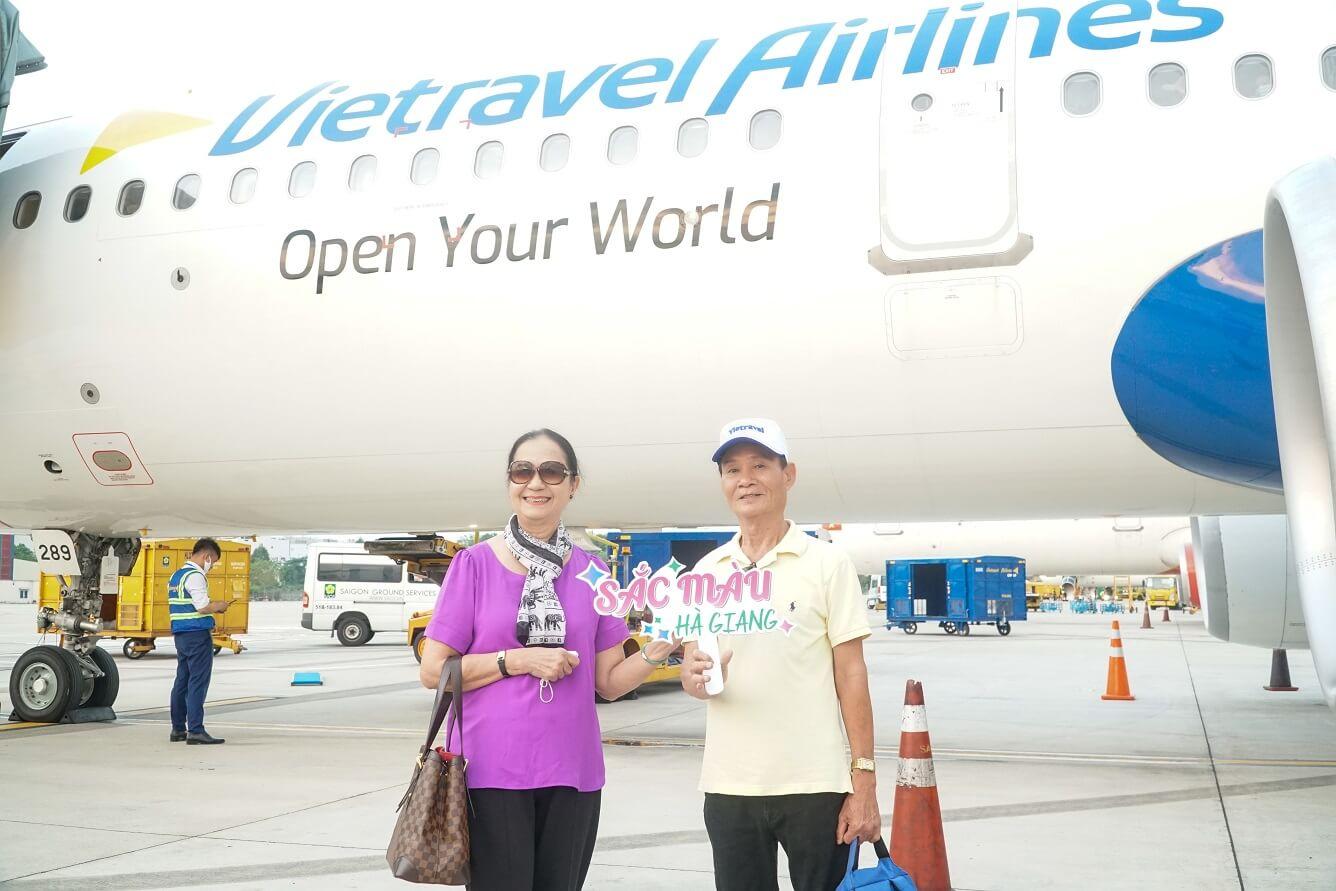 Đối tượng khách hàng của Vietravel Airlines